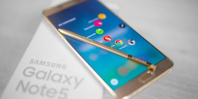 Arabistan'dan Samsung Galaxy Note5